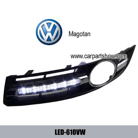Volkswagen VW Magotan DRL LED Daytime Running Lights Car headlight parts Fog lamp cover LED-610VW