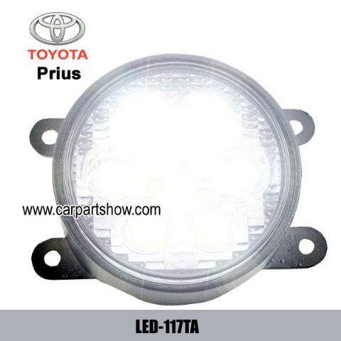 TOYOTA Prius DRL LED Daytime Running Lights Car headlight parts Fog lamp cover LED-117TA