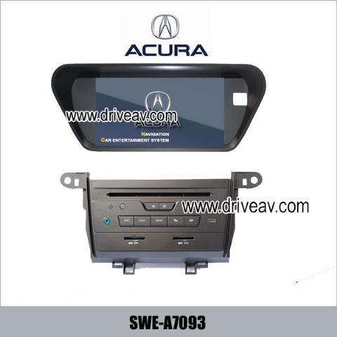 Acura TSX factory OEM stereo radio Car DVD player GPS navi SWE-A7093