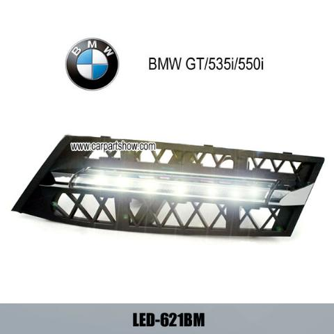 BMW GT 535i 550i DRL LED Daytime Running Lights Car headlight parts Fog lamp cover LED-621BM