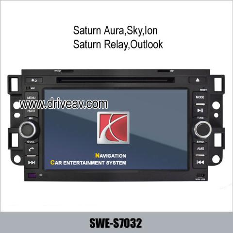 Saturn Vue Aura Sky Ion Relay Outlook OEM radio GPS DVD Player IPOD SWE-S7032