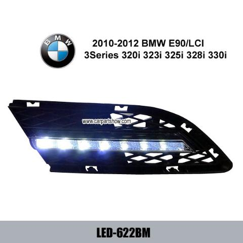 BMW 3 Series E90 316i 318i 320i 325i 328i 330i DRL LED Daytime Running Lights Fog lamp cover LED-622BM